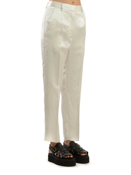 Maison Margiela MM6 Natural high waisted Women#x27;s Pants Size 44 Italy NWT $57.00