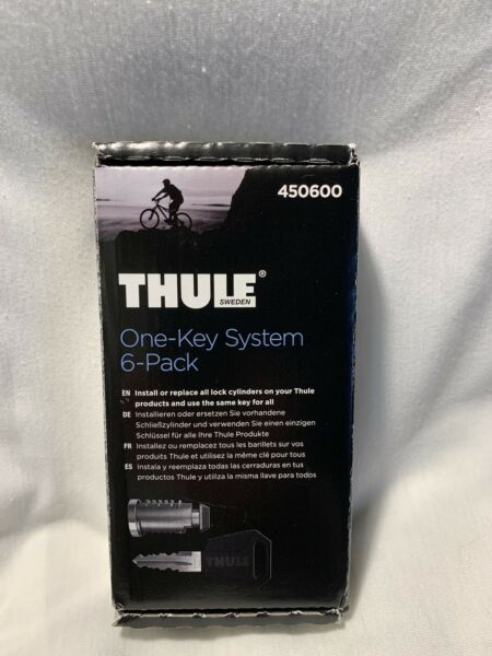 Thule One Key System 6 Pack 450600 $39.99