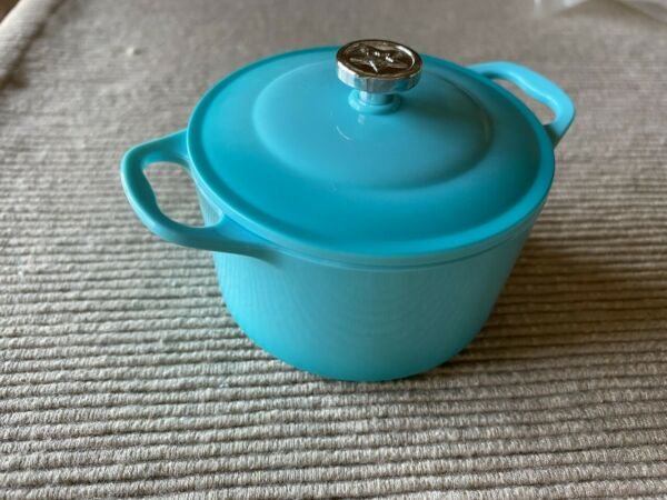 American Girl large blue pot pan kitchen cooking pot NEW 18quot; doll $12.51