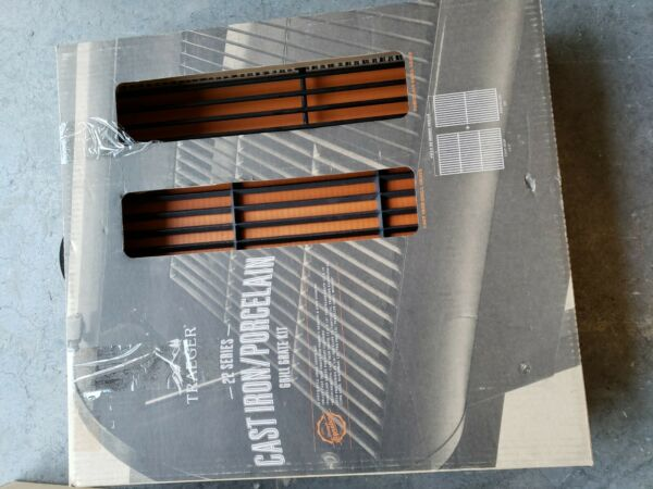 New Traeger 22 Series Grill Grate Kit 2 Piece BAC366 cast