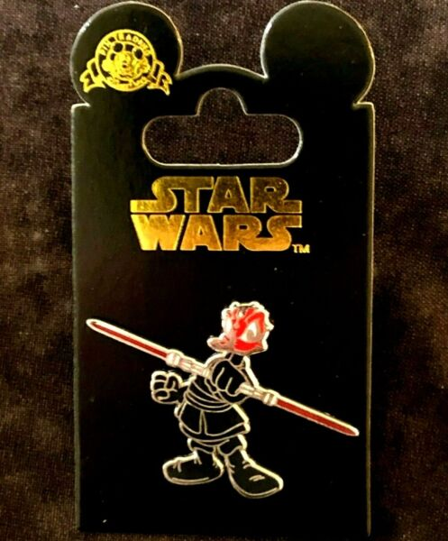 👹 NEW Donald Duck as Darth Maul 2012 Star Wars Disney Pin Disneyland Paris $15.99