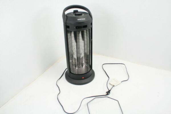 Space Radiant 120° Oscillation Adjustable Outdoor Electric Heater 1500W Quiet $59.23