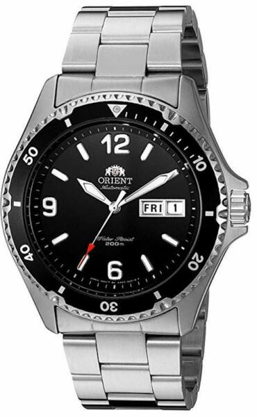 Orient Men#x27;s Mako II Automatic Stainless Steel Diving Watch FAA02001B9 NEW $114.99
