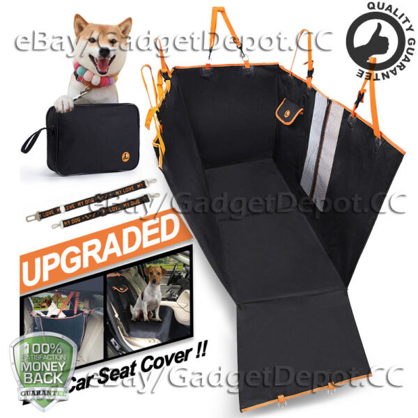 Pet Car Back Seat Cover for Dogs Cats Waterproof Hammock Protector Mat Blanket $23.73