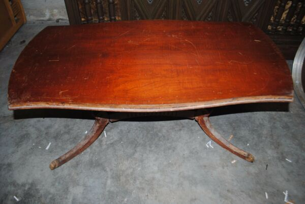 Vintage Original Wooden Mersman 7458 Coffee Table from 50#x27;s