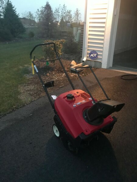 used gas snow blowers