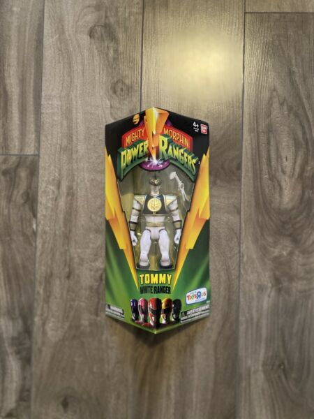 Bandai Mighty Morphin Power Rangers Legacy Tommy White Ranger 5 in Action Figure C $35.00