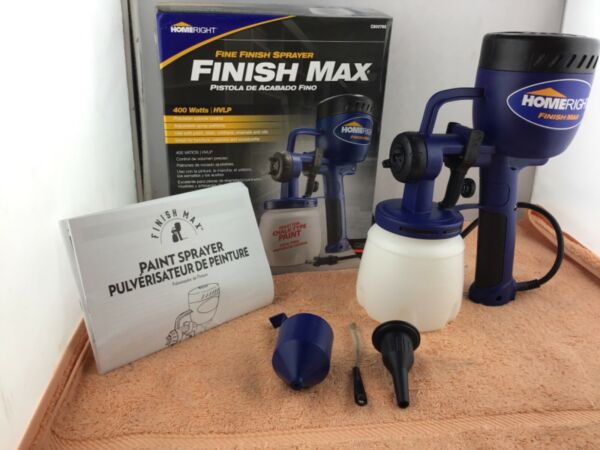 HomeRight Finish Max HVLP Electric Home Paint Sprayer Power Painter USED $72.99