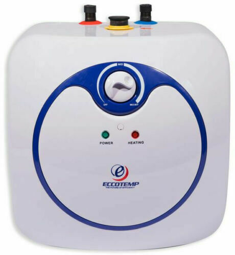 Small Electric Water Heater Mini Tank Point Of Use 4.0 Gal 120v Instant Hot NEW $142.90