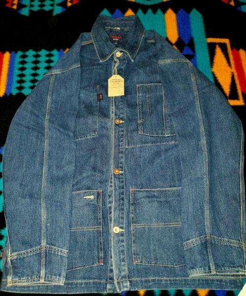 Tommy Hilfiger Jean Jacket XL Button Brand New with Tags $20.00