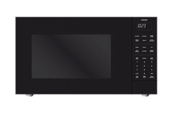 Wolf MS24 2.0 cu. ft. Countertop Microwave Oven in Black 1200 Watts