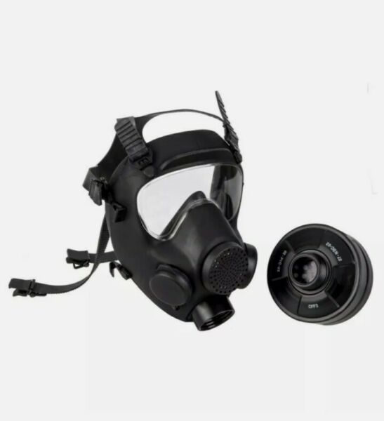 Military Gas Mask 40mm NATO Replaceable Filter Bag