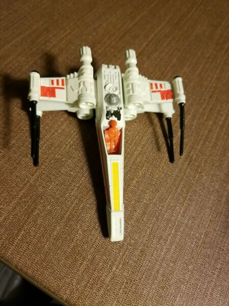 Star Wars Vintage Die Cast X Wing Fighter Kenner Near Complete No Windshield