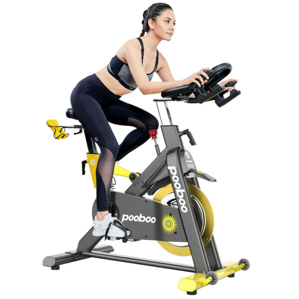 Commercial Exercise Bike Magnetic Resistance Stationary Bike Indoor Cycling Bike $1174.05