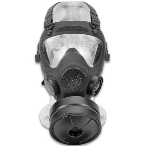 NEW STOCK Military Gas Mask 40mm NATO Replaceable Filter Canister Tear Gas Help $54.99