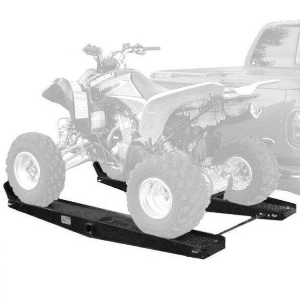 Steel 1000 lb Quad ATV Go Cart Tow Hitch Rack Hauler Carrier with Loading Ramps $599.99