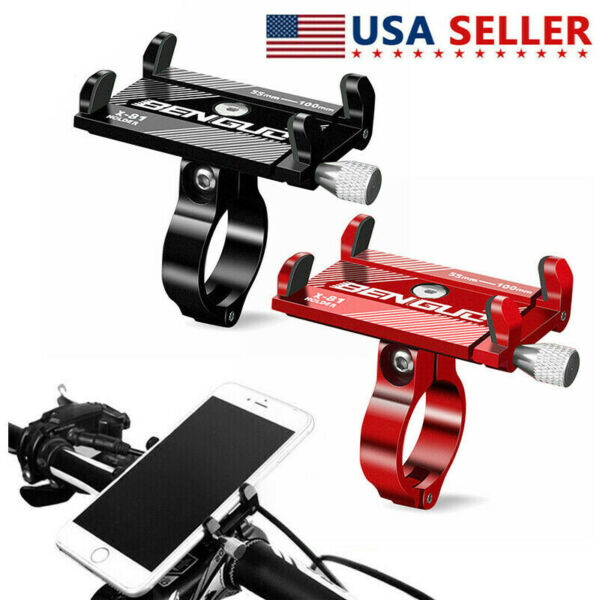 Aluminum Alloy Motorcycle Bike Holder Bicycle Mount Handlebar Stand For Phone US $5.69