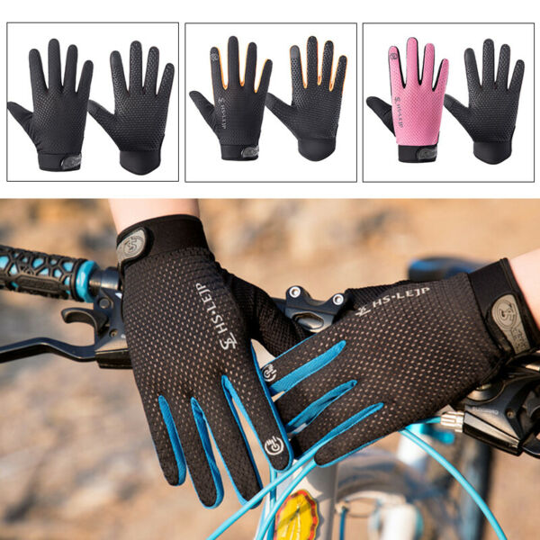 Bike Riding Full Finger Glove Racing Motorcycle Gloves Bicycle Cycling BMX MTB $4.99