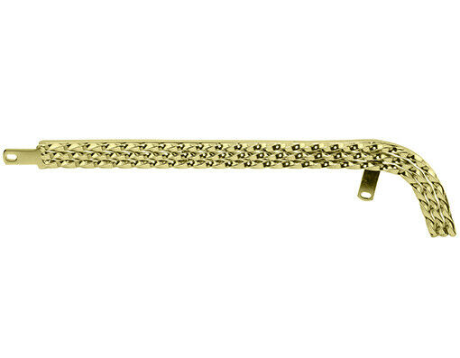 bike bike 26quot; Lowrider Triple Square Twisted Chain Guard Gold. $66.00