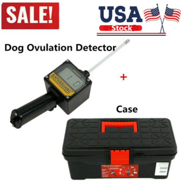 Automatic Dog Ovulation Detector for Breeder Canine Mating amp; Box amp; 9V Battery $83.00