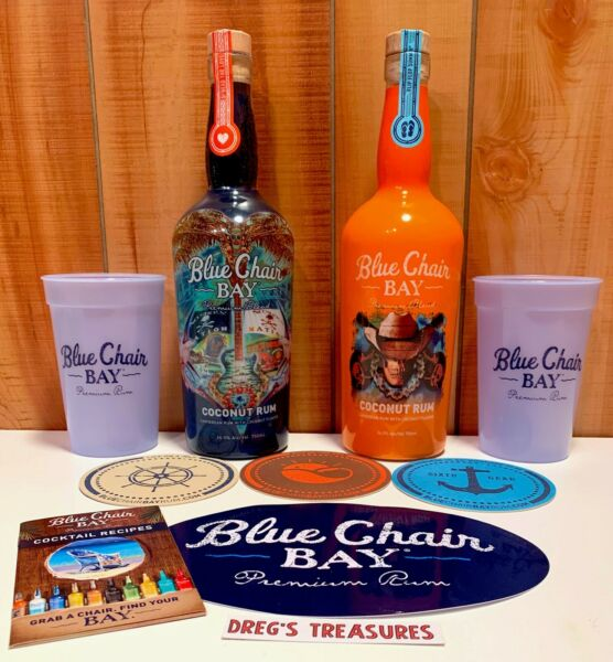 Blue Chair Bay 2018 amp; 2019 Commemorative Bottles amp; Much More Hey Chesney Fans $100.00