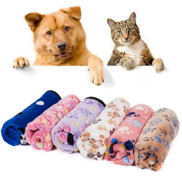 2 Packs Soft Pet Blanket for Dog Cat Warm Puppy Kitten Cushion Bed Mat Pad Cover $13.99