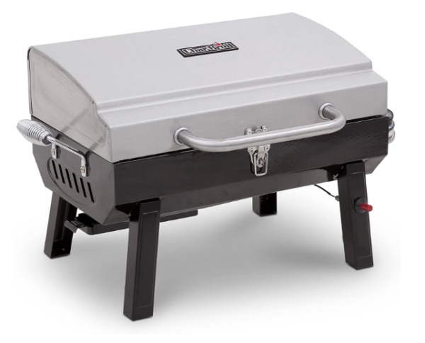 Char Broil Stainless Steel Portable Liquid Propane Gas Grill Model #465640214
