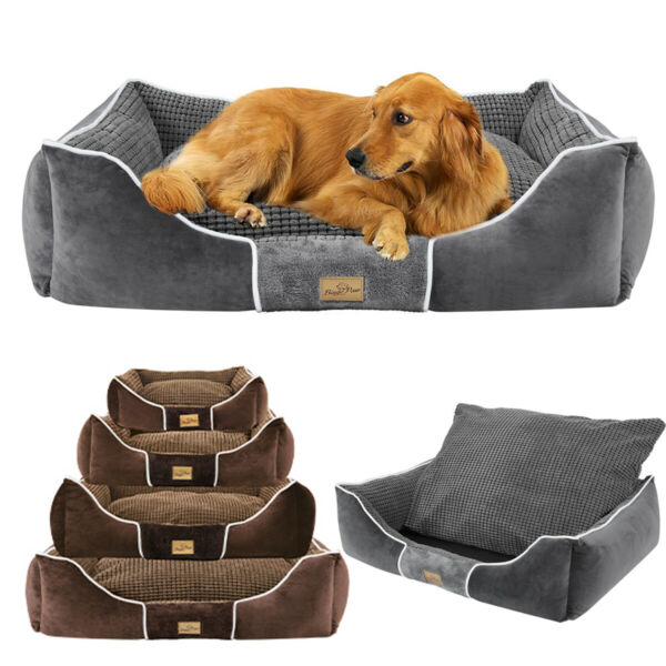 Thickened Enough Big Calming Pets Dogs Beds Orthopedic Pillow Top Dog Couch Bed $62.92