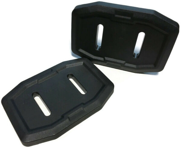 Set of 2 Composite Snow skid shoe for 583838801 fit#x27;s some Husqvarna Snow blower
