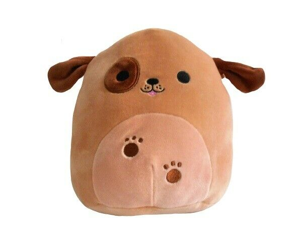 Squishmallows Doug the Brown Dog With Eye Patch Plush 16 Inch $50.99