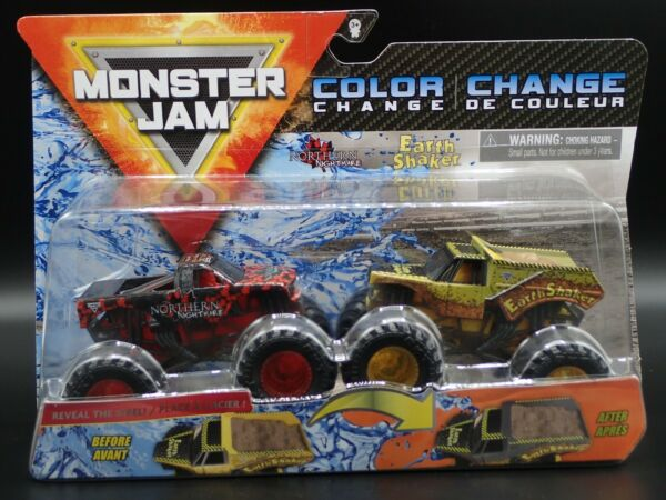 2020 SPIN MASTER MONSTER JAM MIX 11 NORTHERN NIGHTMARE EARTH SHAKER COLOR CHANGE $19.99