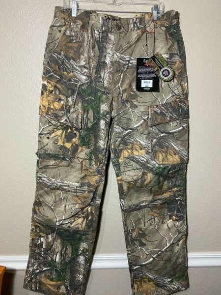 Red Head Silent Hide Mens Hunting Camo Cargo Pants Large 36x32 NEW