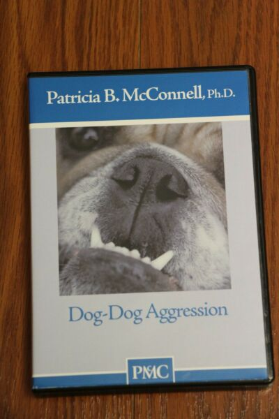 Patricia McConnell Dog Dog Aggression DVD Like New $49.99