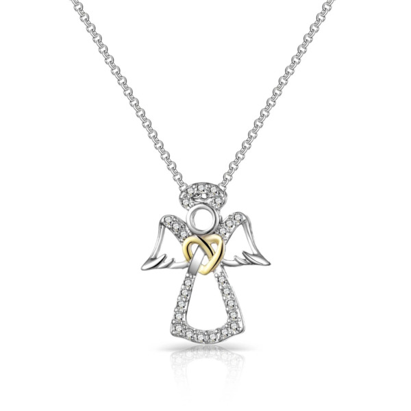 Guardian Angel Necklace Created with Swarovski® Crystals $12.99