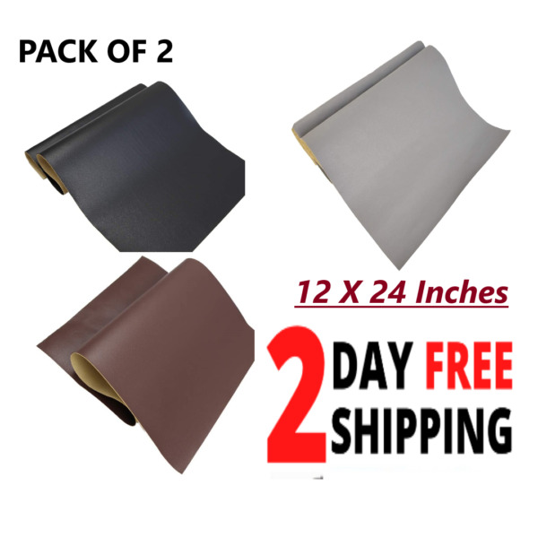 Large Leather Repair Patch Adhesive Back First aid For Upholstery Car Couch Seat $24.83