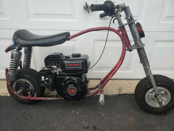 MINI BIKE 212 PREDATOR ENGINE POCKET BIKE MINI CHOPPER STREET BIKE MOPED SCOOTER $475.00