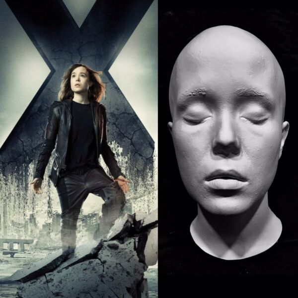 Ellen Elliot Page Life Mask Cast X Men Kitty Pryde Whip It Juno Great Detail