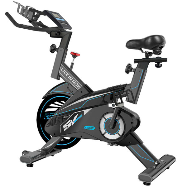 Indoor Exercise Bike Stationary Cycling Bike Home Office Cardio Workout Bike New $396.88