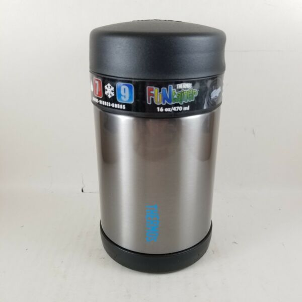 Thermos Funtainer 16oz. Stainless Food Jar Container.. New