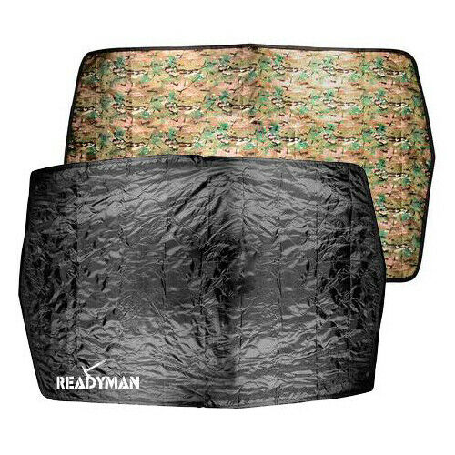 Survival Poncho Liner Survival Blanket Readyman Maintains body heat 80#x27;#x27;x56#x27;#x27; $38.94