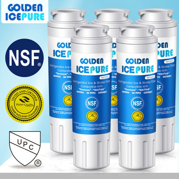 Fit For Filter 4 Maytag UKF8001 WRX735SDBM RFC0900A RWF1040 Water Filter 5 Pack $35.99