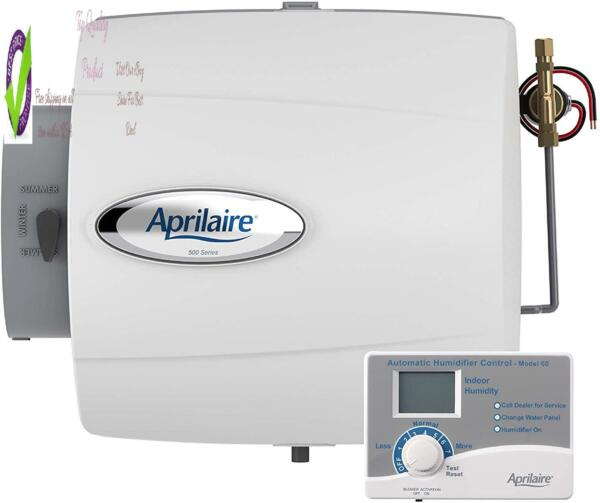 Aprilaire 500 Whole Home Humidifier Automatic Compact Furnace Humidifier Lar C $176.71