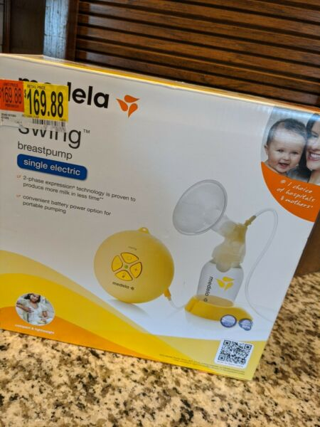 New Medela Swing Single Electric Breast Pump Kit RETAIL IS $169