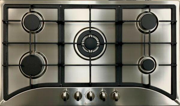 Big Sell 35quot; 5 Burners Built In Black stainless steel CookTop Gas Stove NG LPG