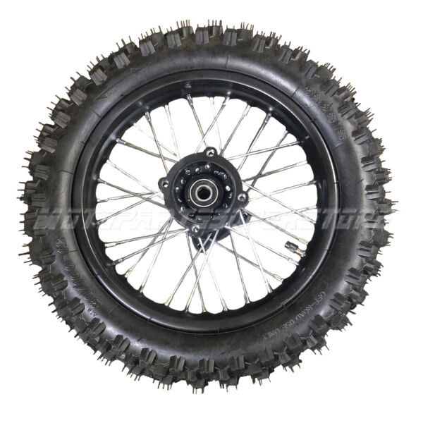 12quot; Rear Wheel 3.00 12 Rim Tire for 70cc 90 110cc 125cc Dirt Pit Bike TaoTao SSR $69.95