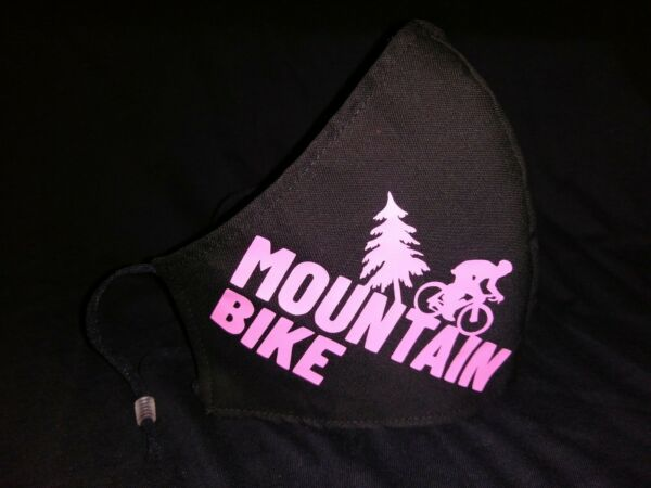 Mountain bike Face Mask. Adult Unisex With Adjustable Ear Bands $8.00