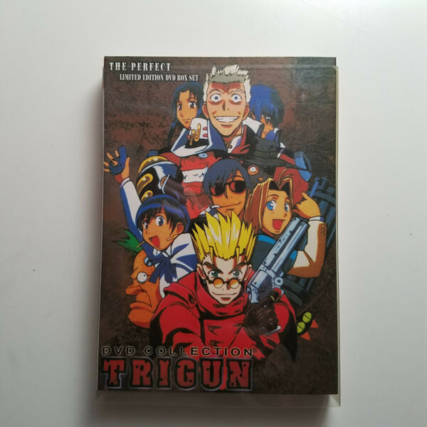 Trigun The Perfect Limited Edition 3 DVD Box Set FAST SHIPPING