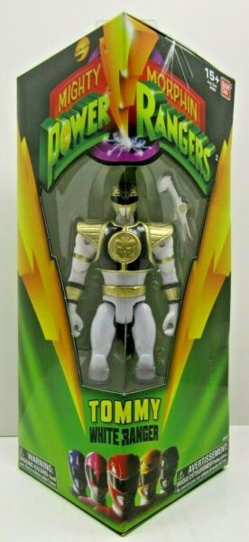 Tommy White Ranger Mighty Morphin Power Rangers Legacy 5quot; Action Figure Ban Dai $20.00