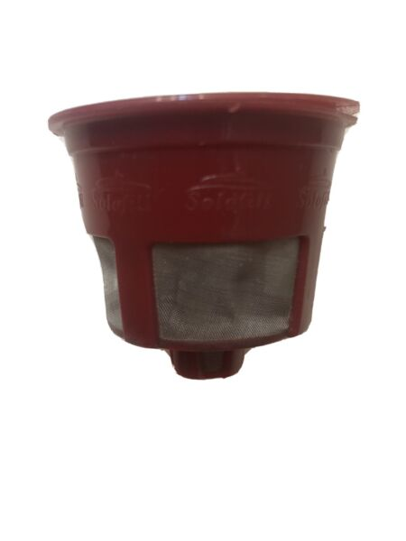Solofill Filter Cup for Keurig Brewing Systems.
