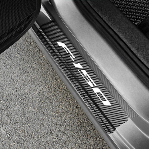 Ford F 150 Door Sill Protective Decal Carbon Sticker 2020 $24.89